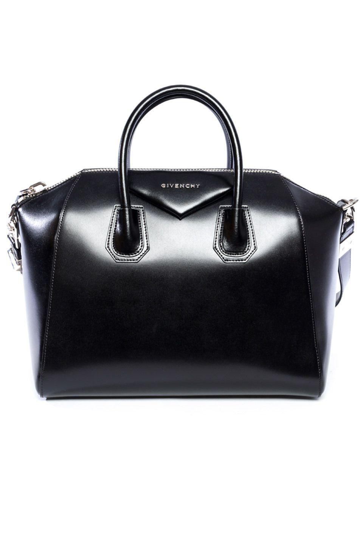 86cdd092a2 Givenchy - Antigona Medium Sugar Satchel Bag in Gloss Black ...