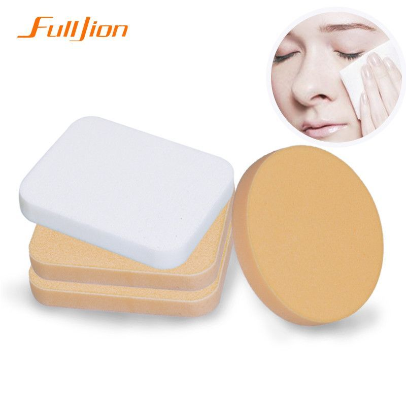 2PCS/lot Makeup Wet and dry dual Foundation Sponge Blender Blending Cosmetic Puff Powder Smooth Beauty Make Up Tool for Women