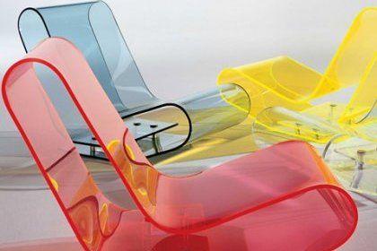 Kartell Chaise Acrylique Design D Interieur Colore Mobilier Acrylique
