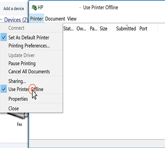 Get short solution to fix the hp deskjet 2542 offline error