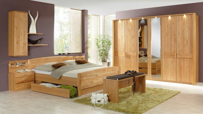 Erle Schlafzimmer ~ Tolle schlafzimmer massivholz deutsche deko