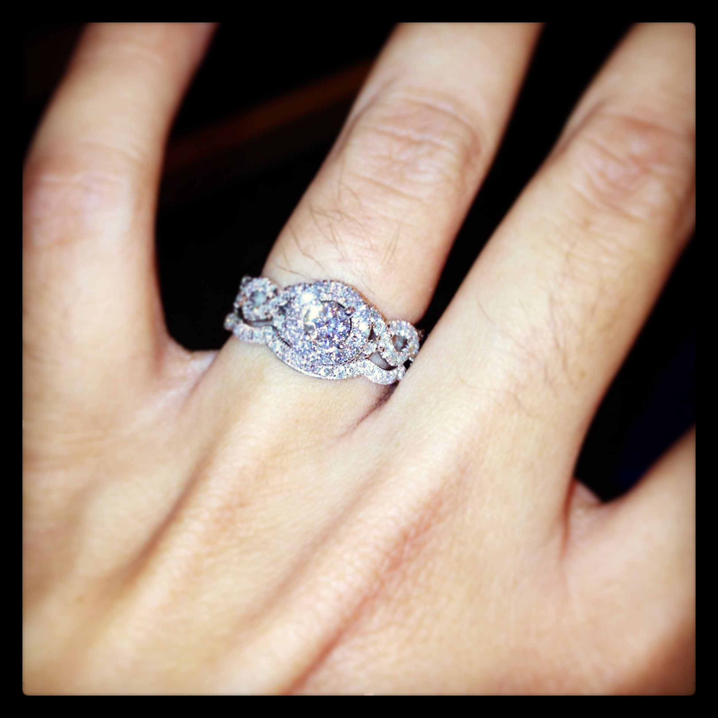 Love This Infinity Band Infinity Band Engagement Ring