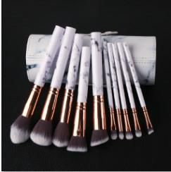 LUXE B Marble Makeup Brushes with Marble case