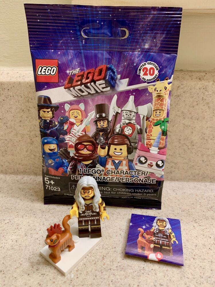 Sherry Scratchen-Post /& Scarfield the Cat Lego Movie 2 Minifigure 71023