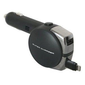 Photo of カシムラ DC充電器 リール 4.8A LN/USB スマホ充電器 Lightning 12V/24V車対応 ブラック iPhone KL-74 :2190322247:雑貨&カー用品 アーティクル – 通販 – Yahoo!ショッピング