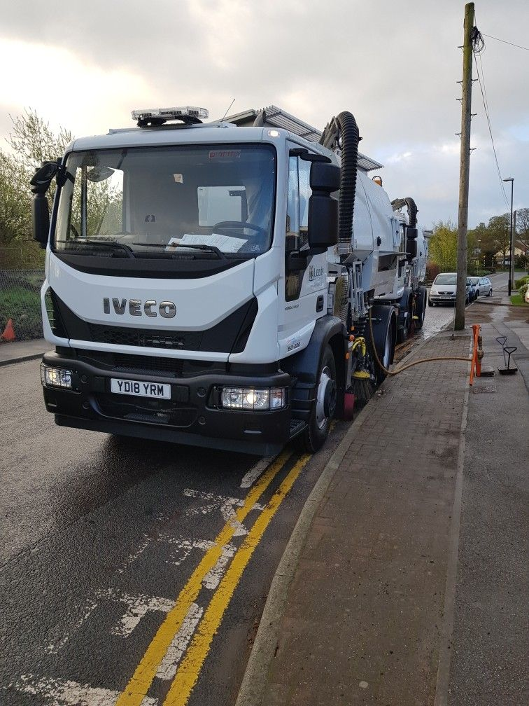 Iveco Eurocargo 150220 Johnston Sweeper 2018 Trucks, Road