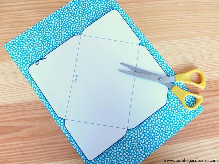 diy enveloppe tape 1 et 2 emvellope mail art pinterest diy enveloppes et mois de mai. Black Bedroom Furniture Sets. Home Design Ideas