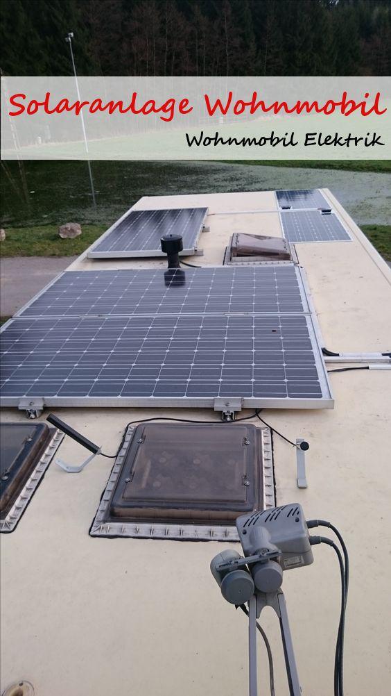 solar auf dem wohnmobil selbst montieren log cabin pinterest wohnmobil wohnwagen und. Black Bedroom Furniture Sets. Home Design Ideas