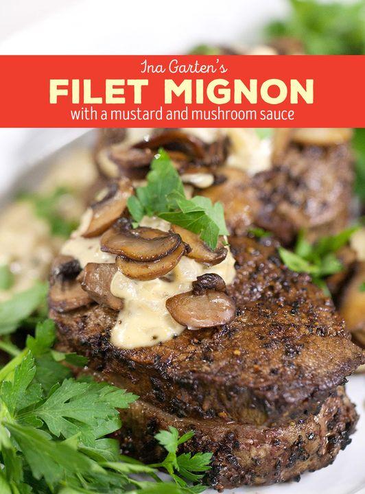 Celebrate Fall With Ina Garten S Filet Mignon Roast Pork Kale Salad Cooking Recipes Beef Recipes Recipes