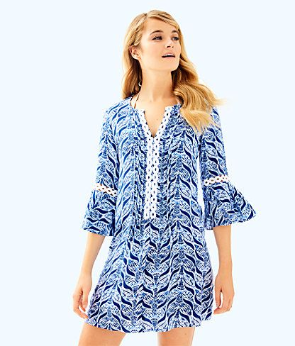 447e42cb507 Hollie Tunic Dress, Resort White A Mermaids Tail, large   Lilly ...