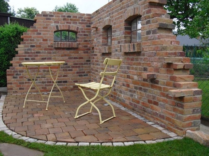 Bildergebnis für gartenmauer rustikal | Garten_Ruine | Pinterest ...