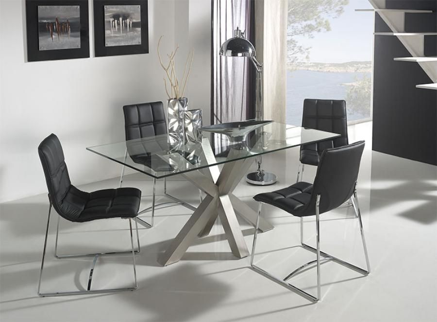 Glass Dining Room Furniture A Perfect Wow Factor For Stylish