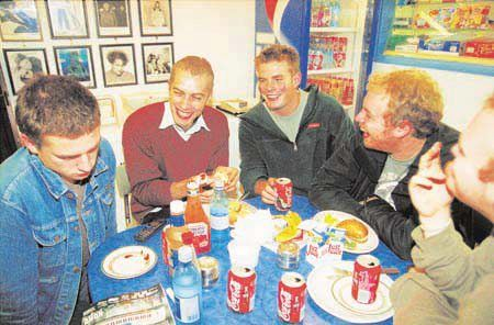 Coldplay young guys :D Chris, Guy, Will and Johnny.