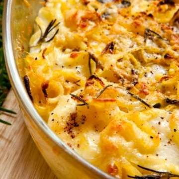 Brilliant AuGratin Potatoes - Crockpot Recipe