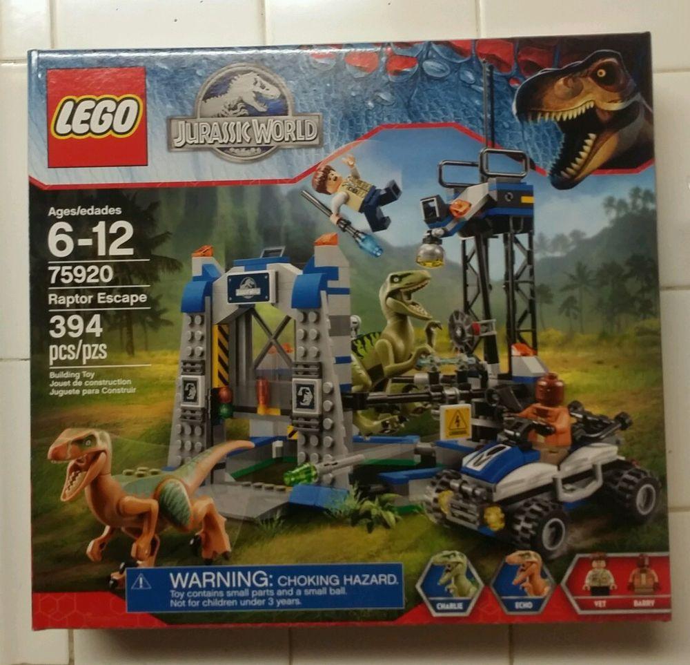 New lego jurassic world raptor escape 75920 lego and building toys new lego jurassic world raptor escape 75920 gumiabroncs Choice Image