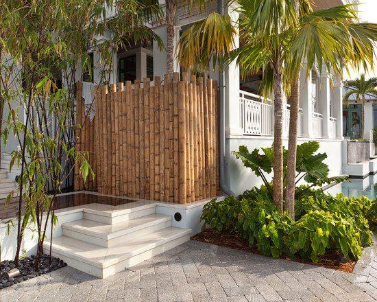 jardin tropical bambou déco | Jardins et Terrasses | Pinterest