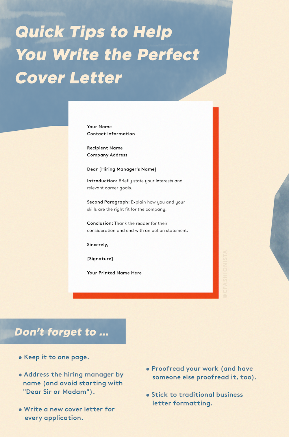 How To Write A Cover Letter Your 7 Step Guide Career Tips