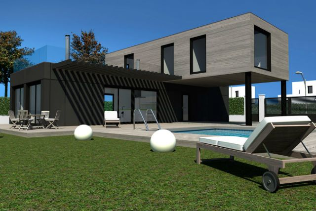 Casas hechas con contenedores marítimos ¿Por qué son una buena ...
