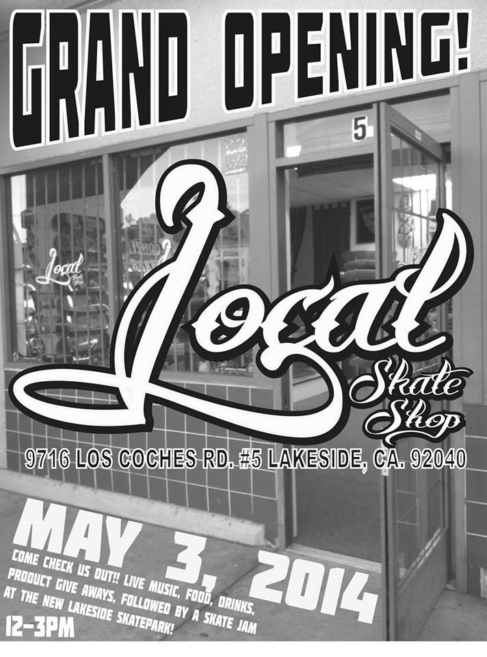 a595a86229a1 Local Skate Shop Ribbon Cutting