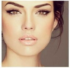Eyebrows Shaping Tips For Square Face With Images Wedding Day