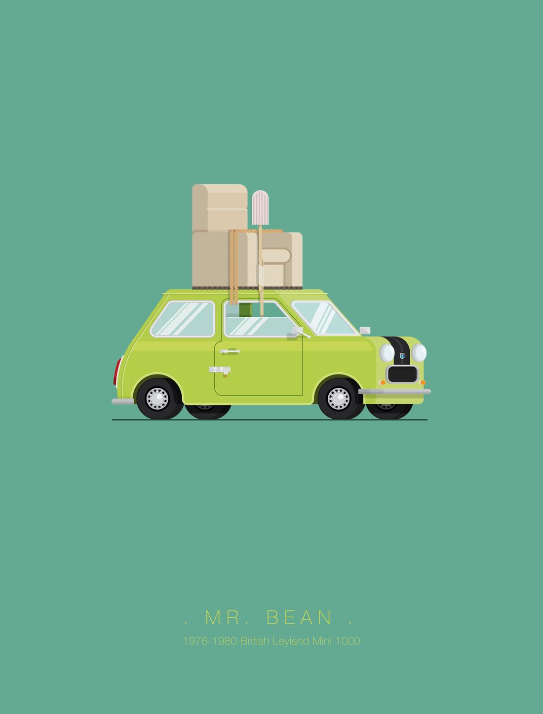 Mr Bean Car Famous Movie Cars Mr Bean Cars Movie
