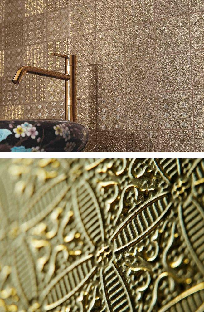 Single-fired ceramic wall tiles DENTELLE by NOVOCERAM @novoceram ...