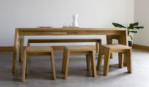 Stubborn Dining Table by Kooyong Design tables big and small