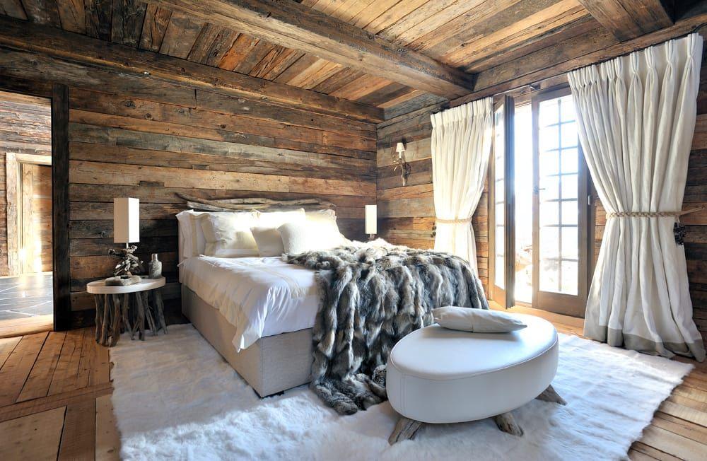 Schweizer Winterträume Hütte Schlafzimmer Schlafzimmer