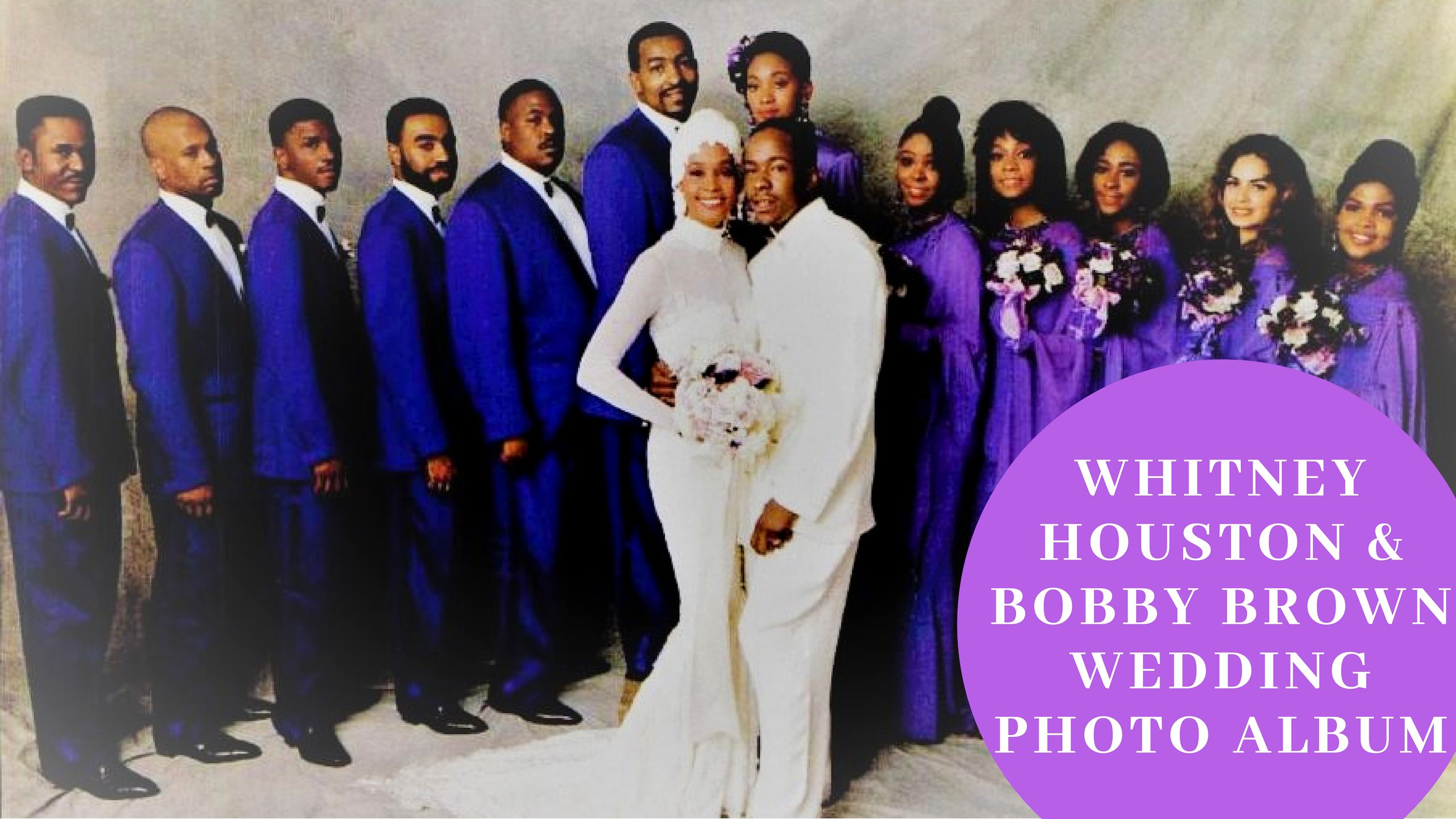 whitney houston bobby brown wedding Whitney houston