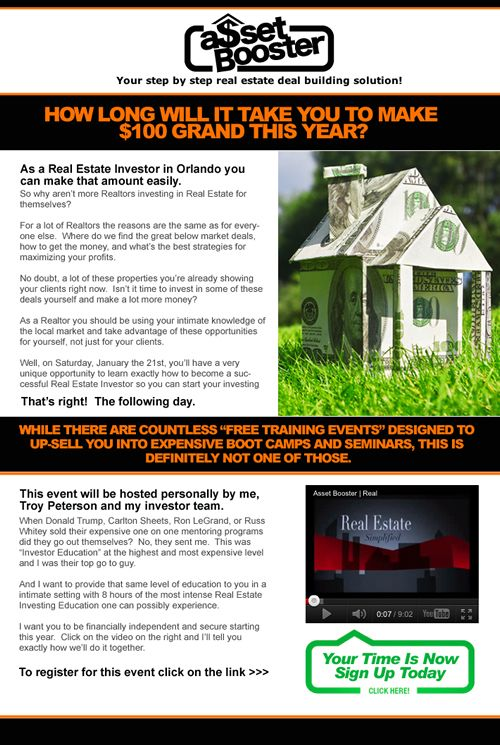 Professionally Designed Real Estate Mortgage Brokers Email Flyers - Mortgage broker flyer template