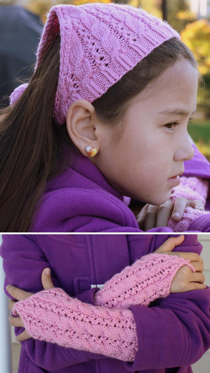Kerchief Knitting Patterns | Kerchief, Knitting patterns and Patterns
