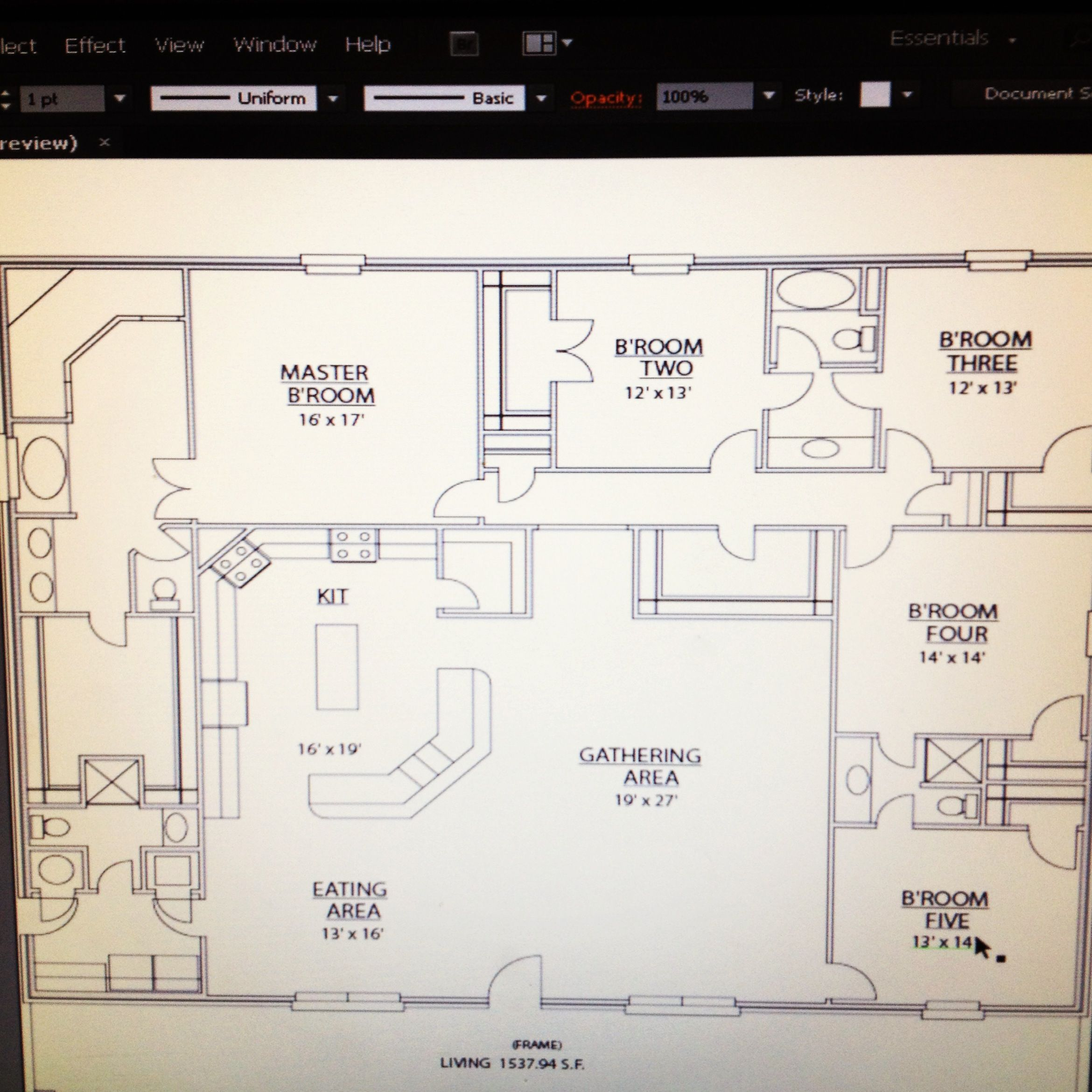 Our Floor Plans 50x60 Heated With 2car Pull Through