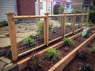 60 Best Ideas for Different Types Of Garden Fence Panels