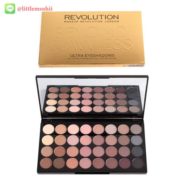 Makeup Revolution Ultra 32 Eyeshadow Palette #Beyond Flawless // ราคา 650 บาท