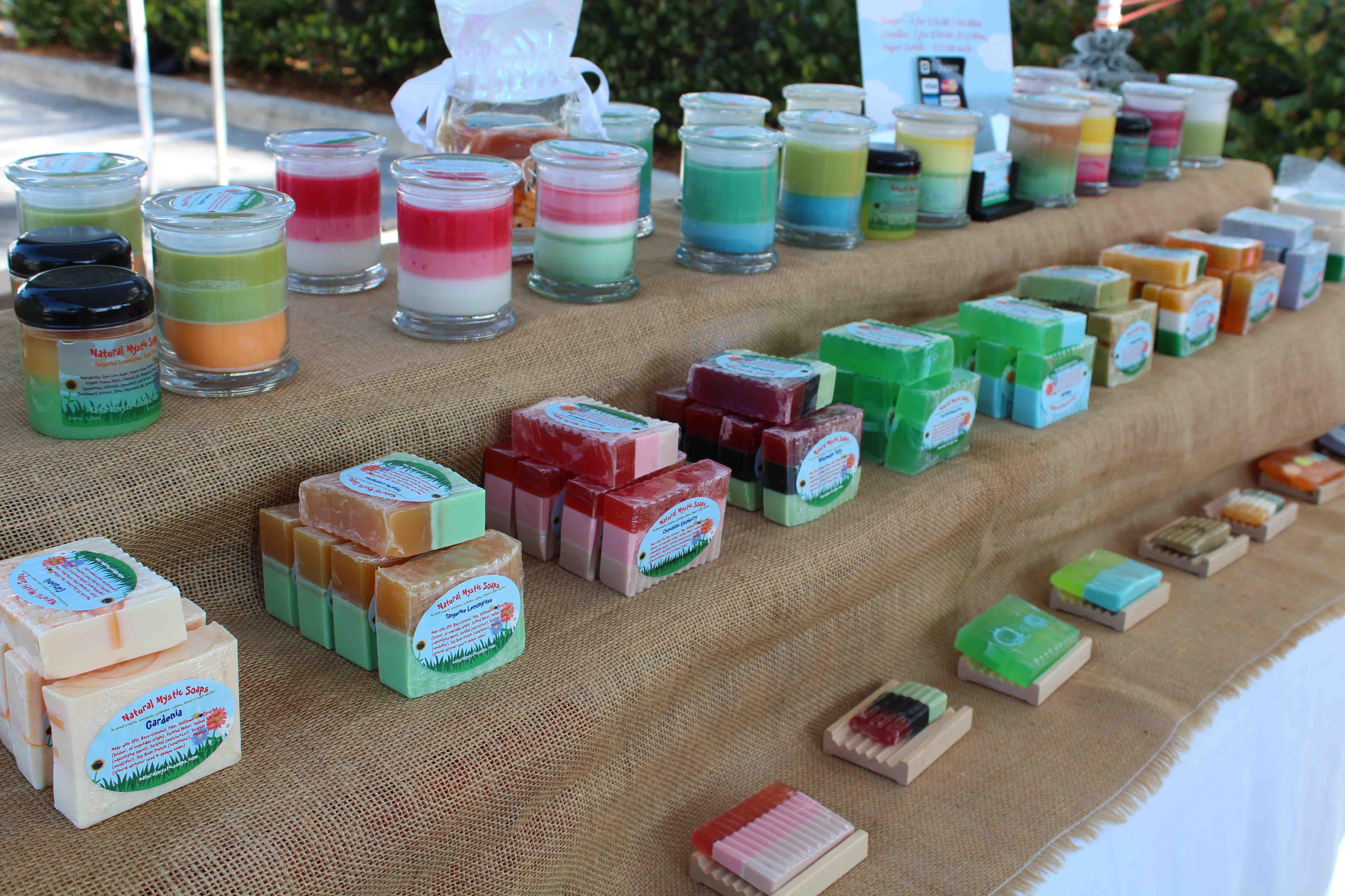 Gardenia soap soap marketing farmers market