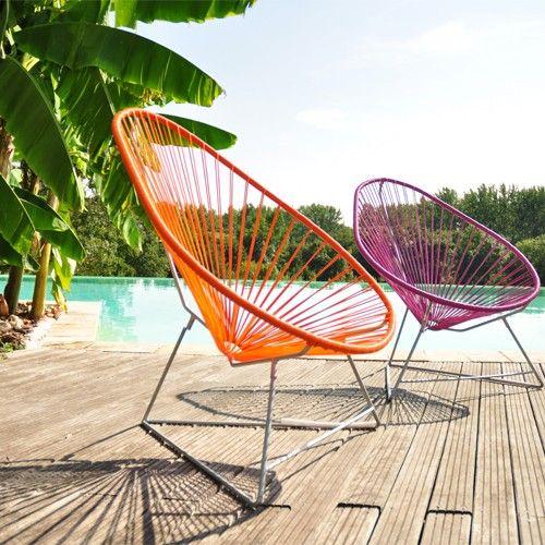 Boqa Fr fauteuil acapulco rouge de boqa | pinterest | acapulco and rouge