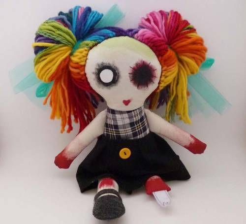 Zombie Dolls  - Knitting, sewing, crochet, tutorials, children crafts, jewlery, needlework, swaps, papercrafts, cooking and so much more on Craftster.org