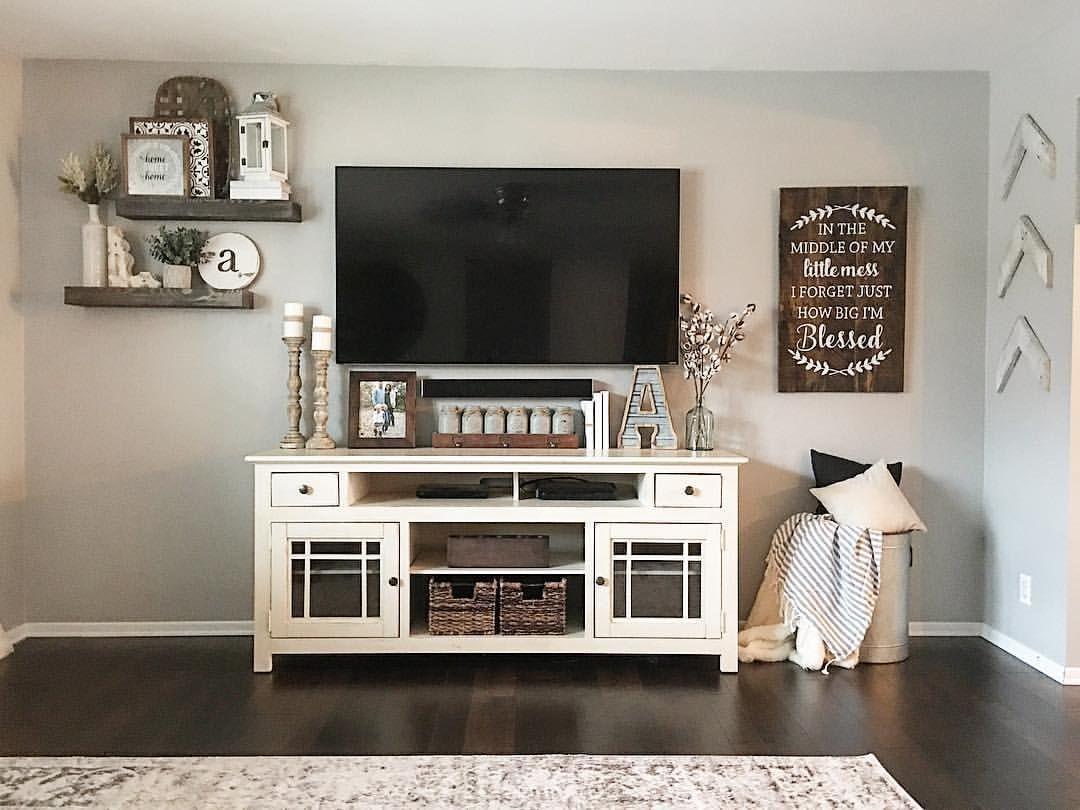 22 Tv Console Decorating Ideas Living Room Decor Home Decor Home