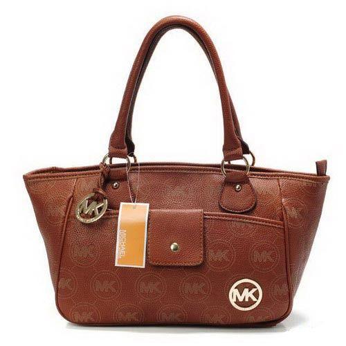 abfa251e14c michael kors brun monogramme cuir classique Shoulder sacs magasin en ligne  jusqu à 70%