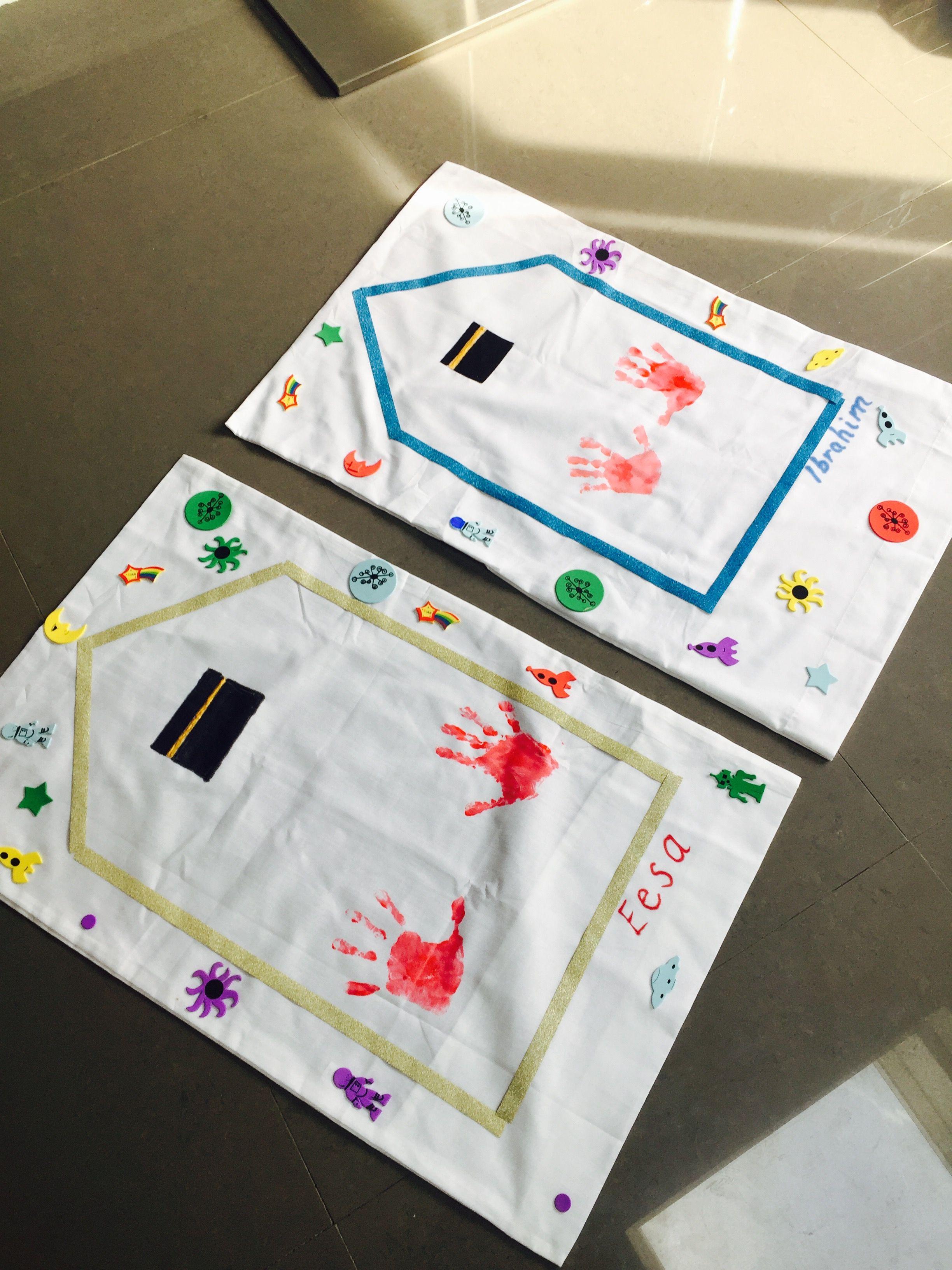 Kids Islamic Prayer Mat Craft