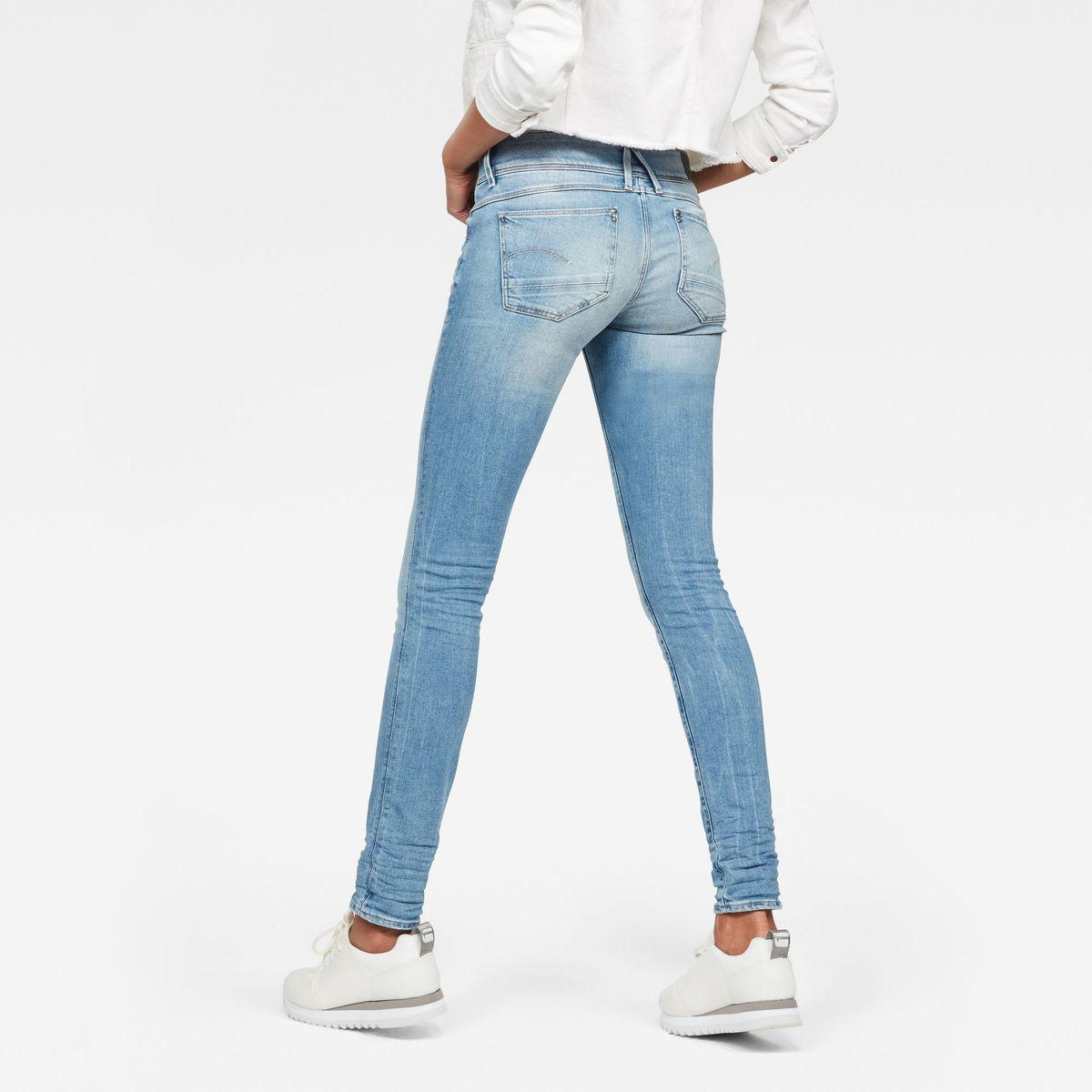 Jean Skinny Taille Moyenne Lynn Taille : W24L34;W25L32