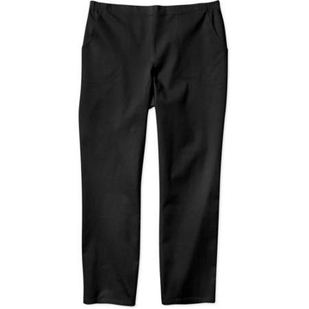 272c3a59f9c Just My Size Womens Plus-Size Pull-On Stretch Woven Pants - Walmart.com