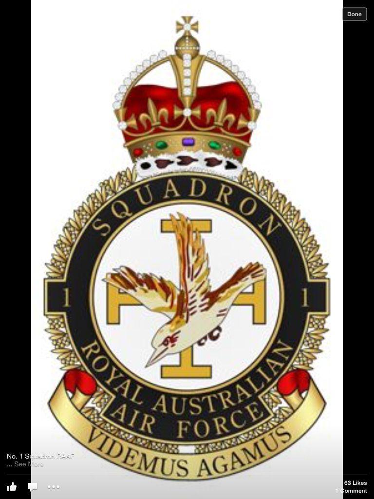 ec9ed6a3 1 Squadron, Royal Australian Air Force Royal Australian Air Force, Military  Insignia