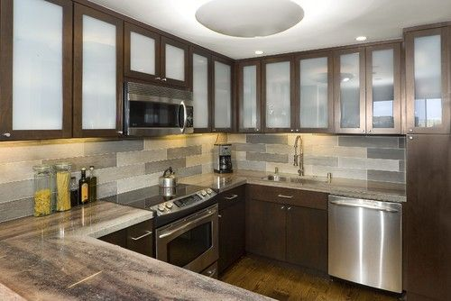 Contemporary Kitchen Backsplash Design, Pictures, Remodel, Decor and
