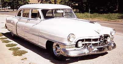 1951 Cadillac Series 75 Limo.