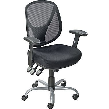 Staples Acadia Ergonomic Mesh MidBack Office Chair with