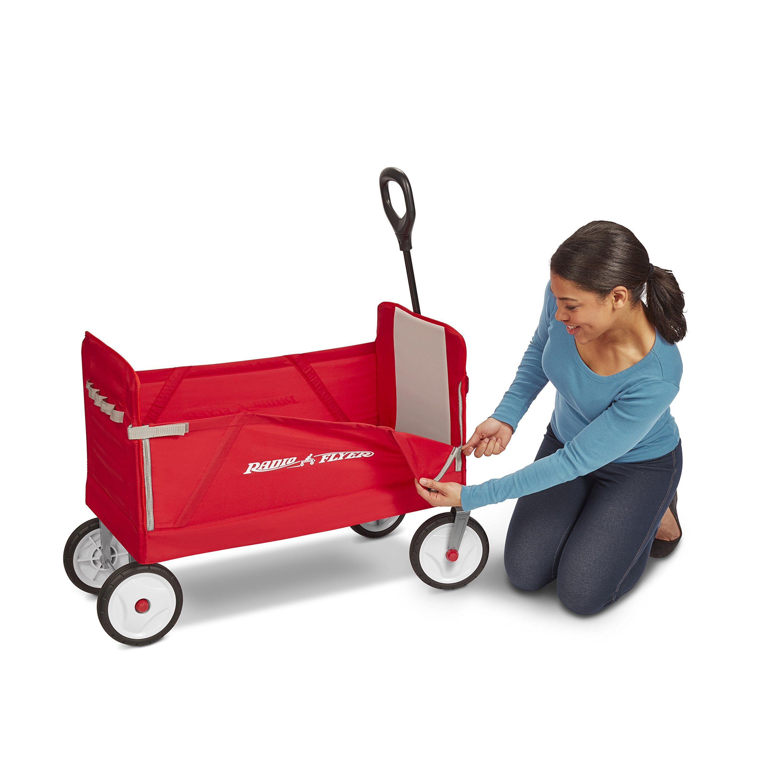 Radio Flyer 3in1 EZ Folding Wagon for kids and cargo