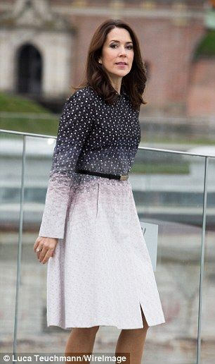 Appearing alongside her husband, Crown Prince Frederik, the 44-year-old Australian dazzled...