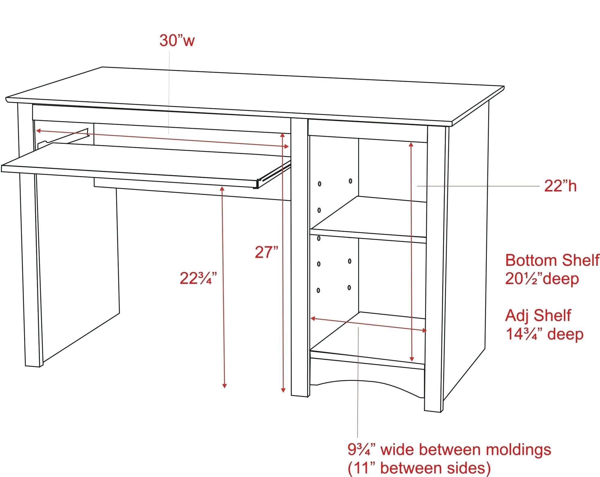 Standard Office Desk Height Cm