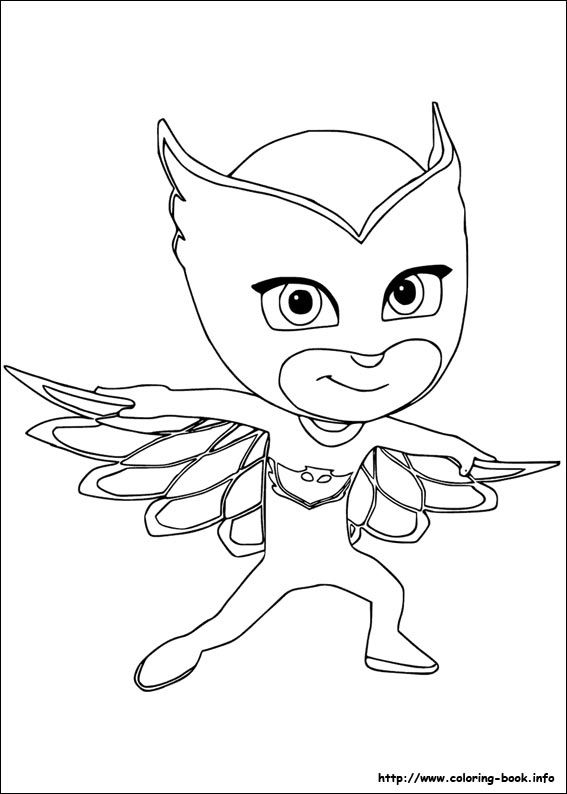 Pj Masks Coloring Picture Coloring Pictures